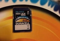New Duracell memory card  Vancouver, V6B 6G1