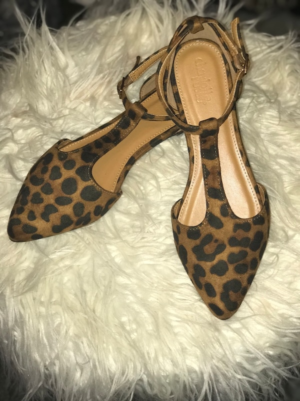 0d9132baf0f3 Used Leopard flats for sale in Covington - letgo