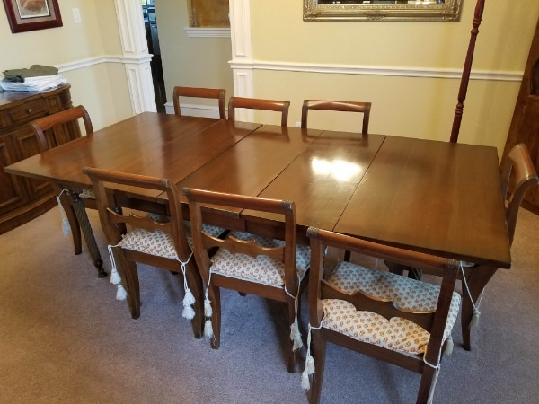 Formal Dining Room Set with 8 Chairs