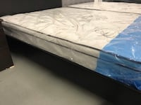 Brand new rest o pedic spring mattress with organic cotton fabric  552 km