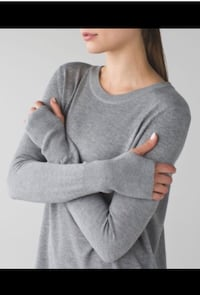 Lululemon bring it backbend sweater ~ size 8/10 ~ retails $118+ Surrey, V4N 6A2