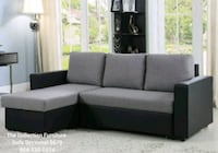 black and gray sectional couch 907 mi