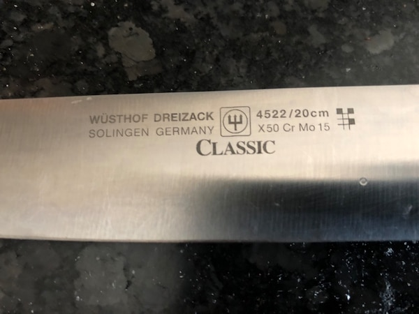 """2 Chef knives by the best brand Zwilling J.A. Henckels  12"""" knifes 8b820635-c6d3-4293-bf93-2ab92de61e92"""