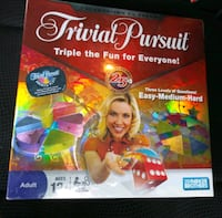 BRAND NEW SEALED TRIVIAL PURSUIT 25TH ANNIVERSARY EDITION