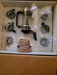 Bodum kit, never used. Do not have original box