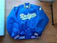 blue and white Dodgers jacket Downey, 90242