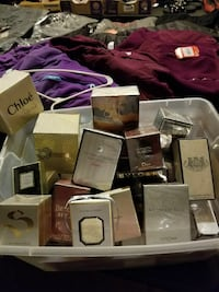 Perfume and cologne sold each separately