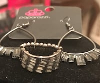 pair of silver-colored Paparazzi earrings Rocky Mount, 27804