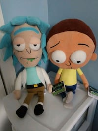 Rick and Morty plush Hagerstown