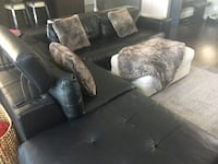Italian Leather Couch Set , T8T 0J2