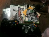 2 controllers, headset and 6 games Concord, 28025
