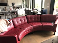 Custom made leather sofa Toronto, M5M 2V8