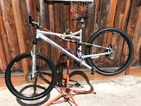 2014 Gary Fisher Hi fi genesis carbon rear frame and rockshox ricoon forks fox rear air shox Larges frames front and rear disc brakes full suspension excellent condition (NO TRADE AVAILABLE) San Jose, 95132