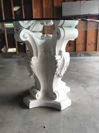 Dining Table- Glass Top
