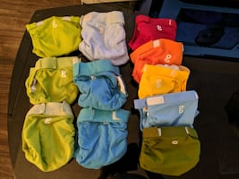 G Diapers inserts and cloth