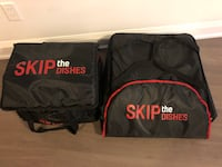 Skip the dishes delivery bags  Toronto, M9A 0E2