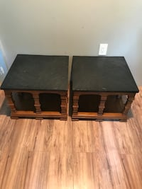 Slate Top End Tables  Irwin, 15642