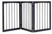 New-Folding Solid Wooden 3 Panel Free Standing Pet Fence Mississauga