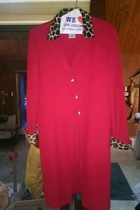 Red and leopard print jacket/dress Troutdale, 97060