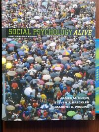 Social Psychology Alive with CD Toronto, M3C 3A3
