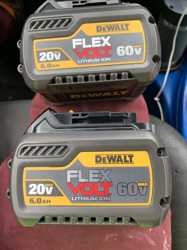 Dewalt FlexVolt 60v Batteries 6.0AH 72be7dd7-02d7-4e02-9223-96717958e1ec