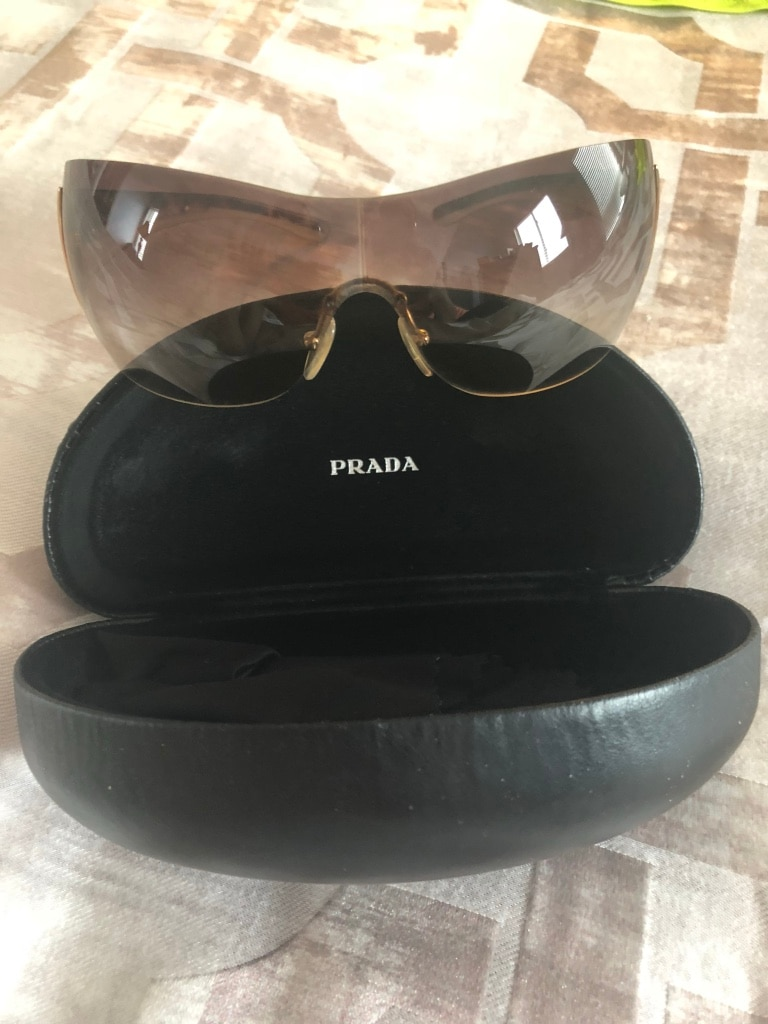 ab7415f0df ... discount used womens prada sunglasses authentic for sale in bolton  5cc3a a310a