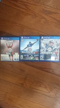 Three assorted ps4 games for 50$ Barrie, L4N 0Y9