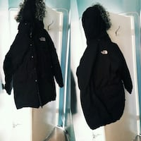 black zip-up parka jacket Toronto, M6A 2M9