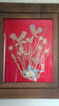 red and white flowers painting Colorado Springs, 80922