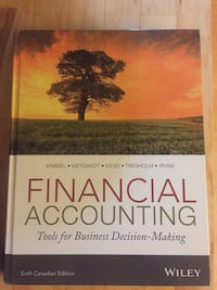 Financial Accounting Tools for Business Decision-Making book Victoria, V8Z 6B6