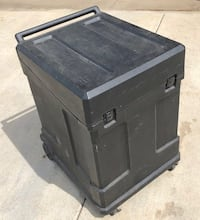 SKB Gig Rig Rack Case With mixer top and Casters 10U