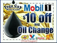 Mobil 1 special Oil Change 10off Fort Mill, 29708