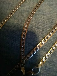 gold chain link necklace  Omaha, 68142