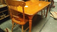 Wood Table Indian Trail