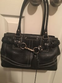 Coach leather two way handle Loxley, 36551
