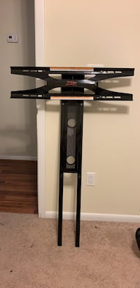 Entertainment center with tv mount