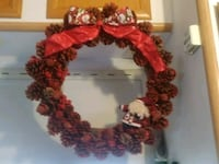 red and white floral wreath Perris, 92571