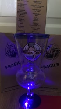 Bubba gump glasses from Maui location limited edition Newberg, 97132