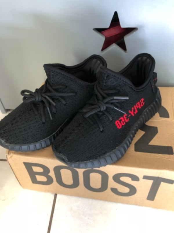 90da19d1c8ede Used Yeezy for kids size 13 and 11 for sale in San Jose - letgo