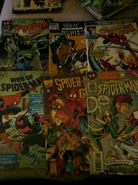 6 Spiderman comics  Toronto, M6K 3G7