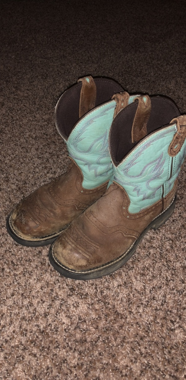Muddy Justin cowgirl boots sz8