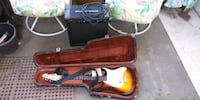 peavey electric guitar and crate amp Davenport