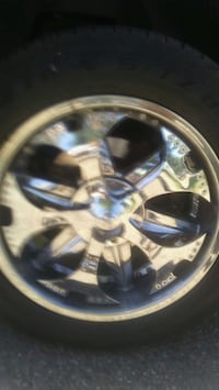 "20"" FOOSE RIMS WITH SPINNERS Edmonton, T5J"