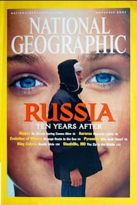 100 National Geographic Magazines Exc Condition