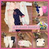 3-6 month (50+pieces) baby girl clothes bundles  Woodbridge, 22192