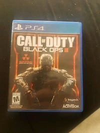 Call of Duty Black Ops 3 PS4 game case Edmonton, T5K 0Z4
