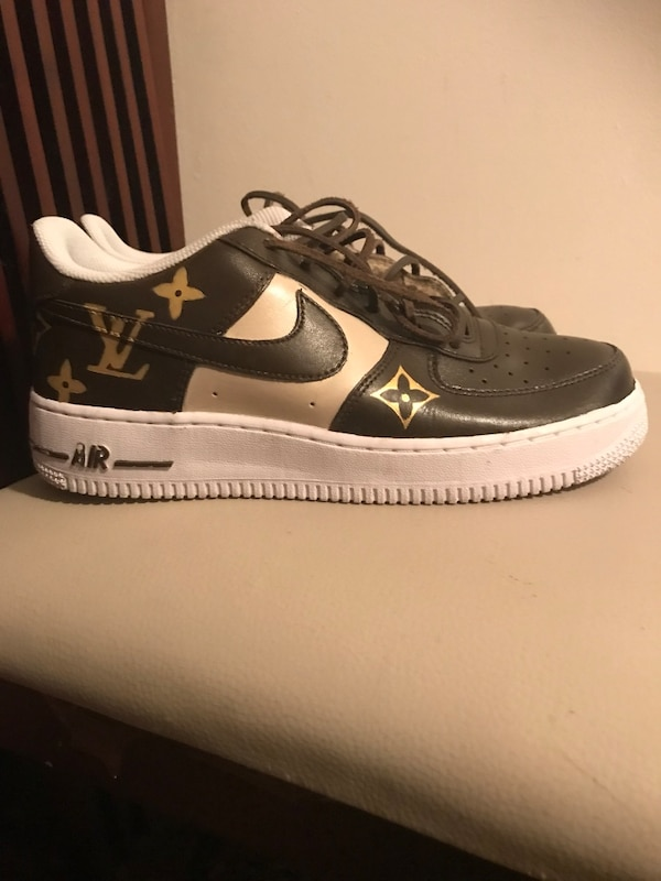 fc4ac63887d511 Used Custom Louis Vuitton Nike Air Force 1 for sale in San Leandro - letgo
