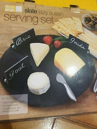 Brand new lazy susan cheese set Montreal, H4K 1T9