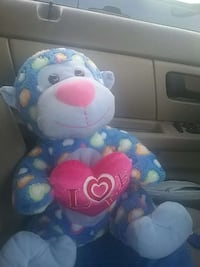 blue and white monkey plush toy Lubbock, 79416