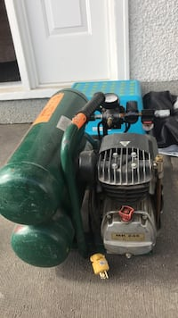 Green and black MK 246 air compressor Kelowna, V1X 1B1